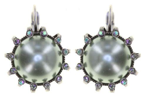 Konplott Ohrhänger in blau/grün - Where the Lilac Bloom 5450543885483