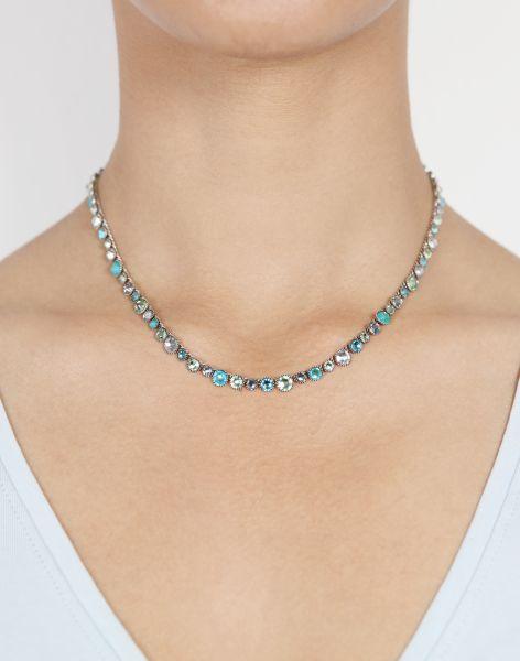 Konplott Water Cascade Halskette in Minty Fresh blau/grün 5450543907260