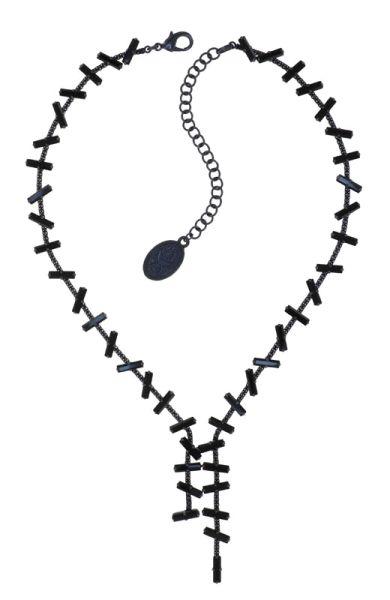 Konplott Jumping Baguette Halskette Deepest Black 5450543812816