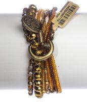 Vorschau: Konplott Petit Glamour d'Afrique Armband in braun 5450543897110