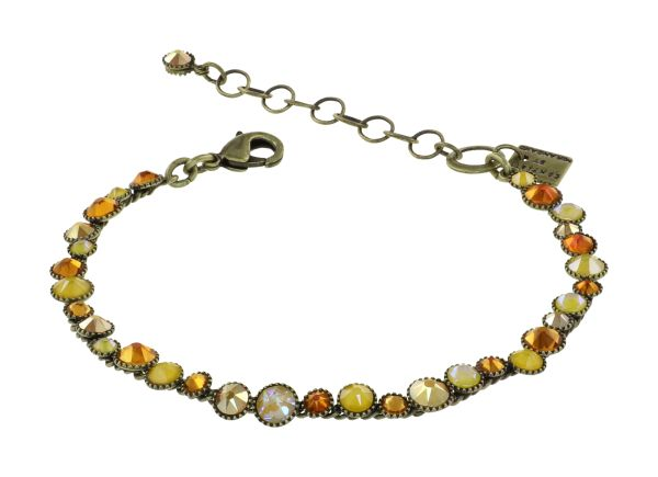 Konplott Water Cascade Armband in Buttercup On Fire gelb 5450543908380