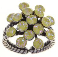 Vorschau: Konplott Magic Fireball Ring klassisch in lemon jelly crystal sunshine de lite 5450543852850