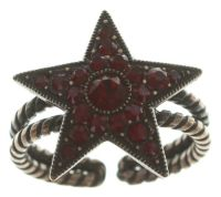 Vorschau: Konplott Dancing Star Ring in rot Größe M 5450543774671