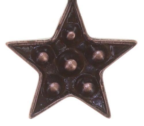 Konplott Dancing Star Ohrhänger in rot Größe XS 5450543774572
