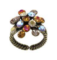 Konplott Magic Fireball Ring Amber in Classic Size 5450543936666
