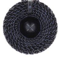 Vorschau: Konplott Rock 'n' Glam Halskette mit Anhänger in black gun metal 5450543777887