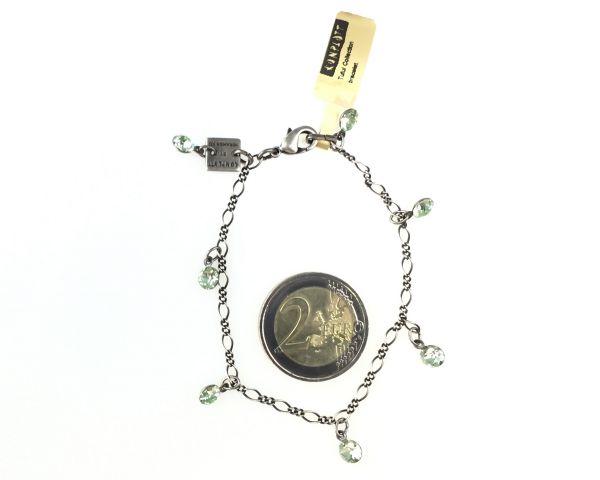 Konplott Tutui chrysolite Armband verschließbar, hellgrün 5450527591690