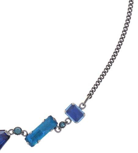 Konplott Mix the Rocks steinbesetzte Halskette in crystal blau 5450543789873