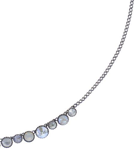 Konplott Water Cascade steinbesetzte Halskette in weiß 5450543773018