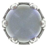Vorschau: Konplott Jelly Star Ohrstecker klein in hellem weiß, blau shimmer 5450543719818