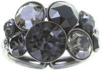 Vorschau: Konplott Petit Glamour Ring in schwarz 5450543726793