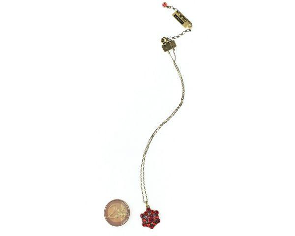 Konplott Bended Lights Halskette mit Anhänger in Koralle/ Rot 5450527758901