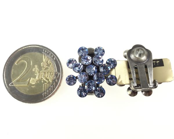 Konplott Magic Fireball Ohrclip in light sapphire 5450527612029