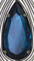Vorschau: Konplott Amazonia lange Halskette mit Anhänger in blau/grün, Größe L 5450543753270