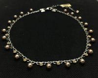 Vorschau: Konplott Pearl Shadow crystal golden shadow Halskette steinbesetzt 5450527598675