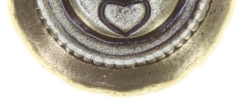 Konplott Striptease Ohrstecker klein in schwarz/weiß Größe XS 5450543780313