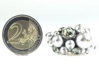 Vorschau: Konplott Pearl Shadow black diamond Ring 5450527480864