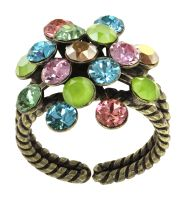 Vorschau: Konplott Magic Fireball Ring in multi Classic Size 5450543903859