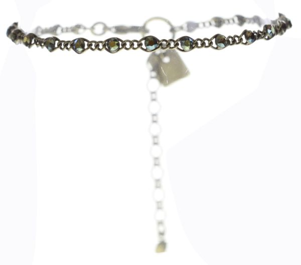 Konplott Magic Fireball Armband Mini in crystal iridescent grün 5450543683409