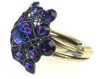 Vorschau: Konplott Bended Lights Ring in Violett 5450527759946