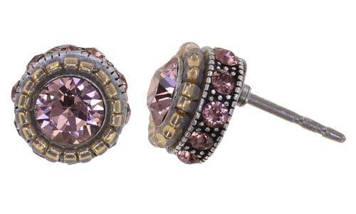 Konplott African Glam Ohrstecker in pink 5450543889269