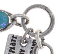Vorschau: Konplott Magic Fireball Armband in water turquoise crystal laguna de lite 5450543852621