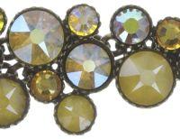 Vorschau: Konplott Inside Out steinbesetzte Halskette in gelb - Gebraucht wie neu 5450543727127