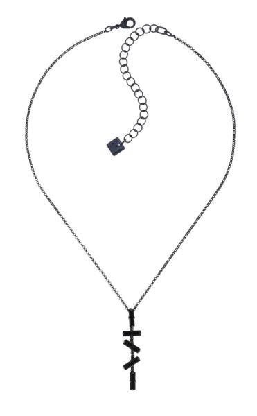Konplott Jumping Baguette Halskette Deepest Black 5450543812830