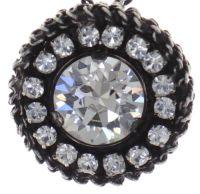 Vorschau: Konplott Rock 'n' Glam Halskette mit Anhänger in crystal weiß 5450543777016