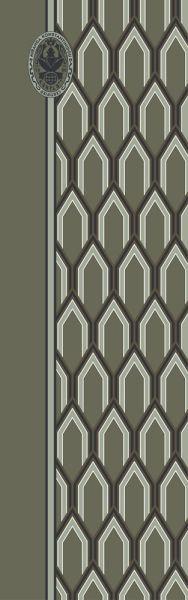 Konplott Schal Geometrisch 17 in grün 5450543807102