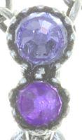 Vorschau: Konplott Water Cascade Halskette mit Anhänger in lila 5450543753966