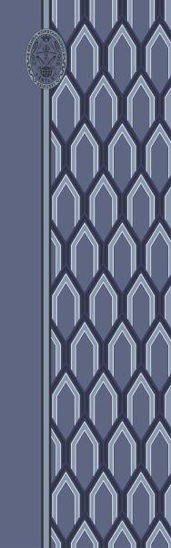 Konplott Schal Geometrisch 19 in blau 5450543807140