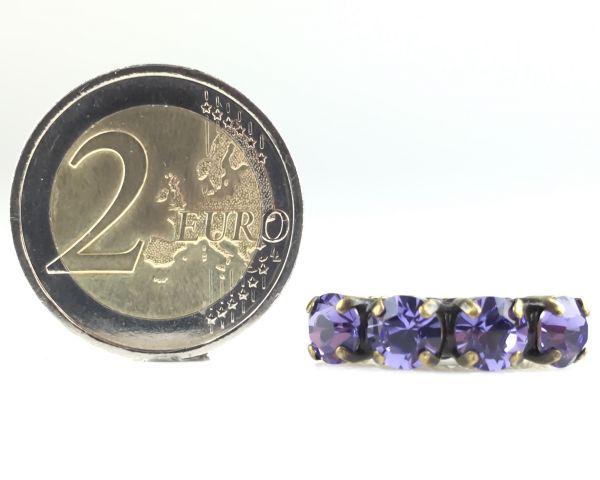 Konplott Colour Snake Ring in Tanzanite, violett 5450527640923