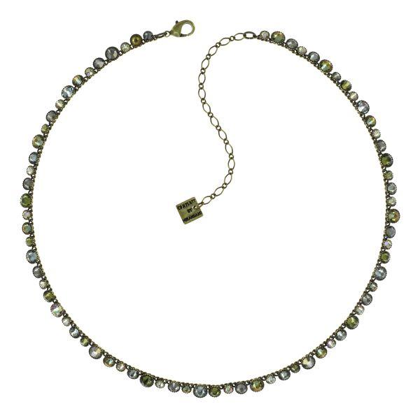 Konplott Water Cascade Halskette Olive Herbs 5450543938035