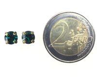 Vorschau: Konplott Black Jack Ohrstecker eckig in Emerald, dunkelgrün 5450527123860