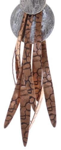 Konplott Global Glam Halskette in copper blau 5450543791265
