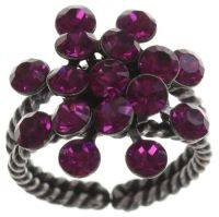 Konplott Magic Fireball 16 Stein Ring in fuchsia 5450527611886