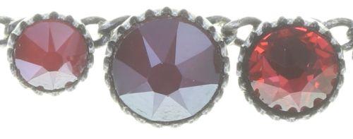 Konplott Water Cascade steinbesetzte Halskette in coralline 5450543772950
