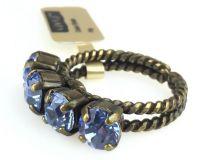 Vorschau: Konplott Colour Snake Ring in Light Sapphire, hellblau 5450527640909
