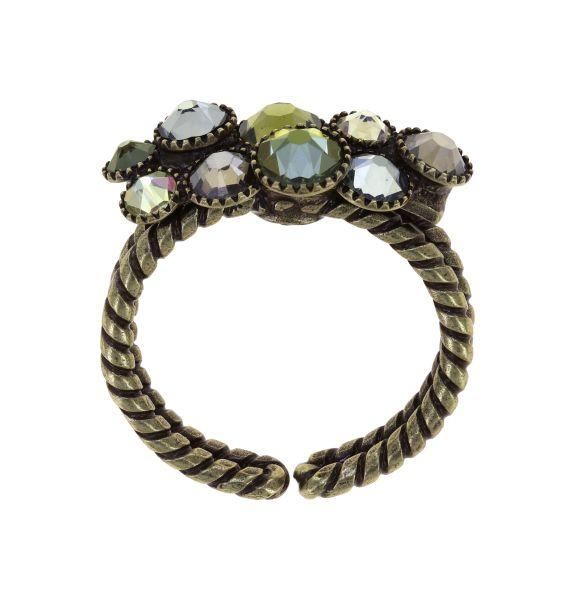 Konplott Water Cascade Ring Olive Herbs 5450543938158