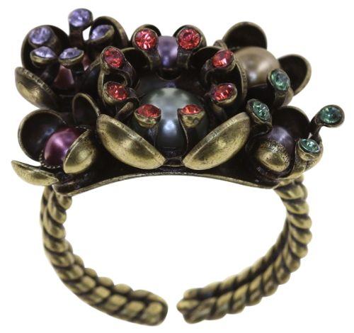 Konplott Ring in multi - Where the Lilac Bloom 5450543883823