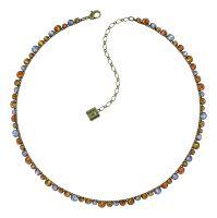 Konplott Water Cascade Halskette in Amber 5450543938455