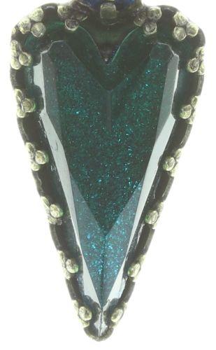 Konplott Snow White Ohrhänger in blau/grün Größe S 5450543758299