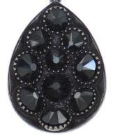 Vorschau: Konplott Tears of Joy Halskette mit Anhänger in schwarz jet hematite Größe M 5450543763156