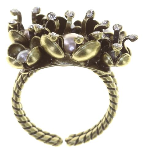 Konplott Ring in weiß - Where the Lilac Bloom 5450543896106