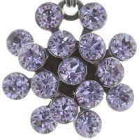 Vorschau: Konplott Magic Fireball Halskette mit Anhänger Mini in Lila/Violet 5450543721422
