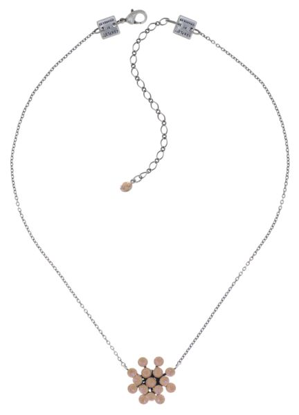 Konplott Magic Fireball Halskette in apricot de glace crystal peach de lite 5450543797274