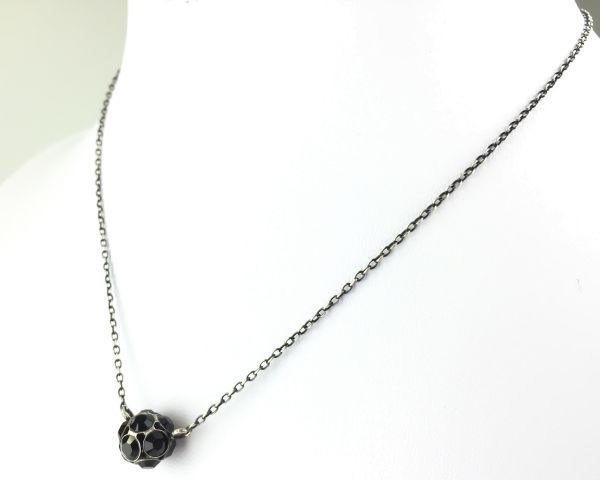 Konplott Disco Balls schwarze Halskette mit Anhänger M 5450527598538