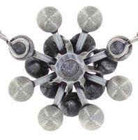 Vorschau: Konplott Magic Fireball Halskette in lilashine crystal lavender de lite 5450543852669