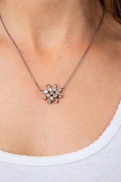 Konplott Magic Fireball Halskette mit Anhänger orange/ kristall 5450543682808